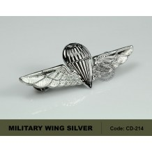 MILITARY WING SILVER, HIGH QUALITY (CD214)